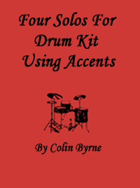 Four Accents Solos For Drum Kit